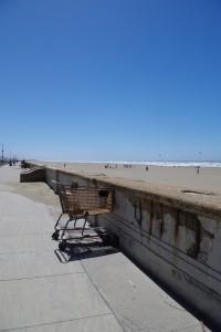 Pacific Ocean Beach by the Great Highway