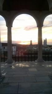 View from Universidade de Coimbra